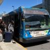 【モントリオール】空港からダウンタウンへ格安アクセスができるSTM 747バス